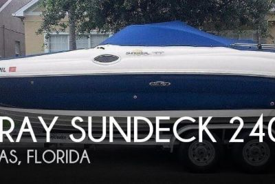 2007 Sea Ray Sundeck 240