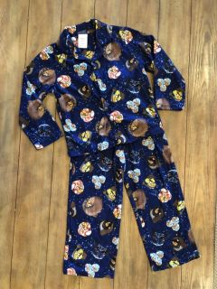 Soft and comfy Star Wars angry birds 2pc pj size 6