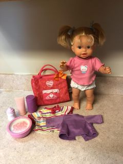 Little Mommy Go Potty interactive doll