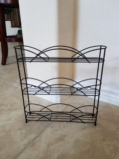 Wire spice rack