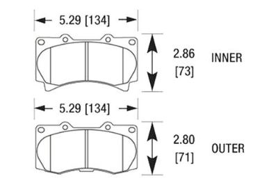 Find HAWK HB526Z.665 - 06-10 Hummer H3 Front Brake Pads Ceramic motorcycle in Chino, California, US, for US $115.24