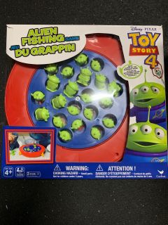Toy Story 4 Alien fishing game