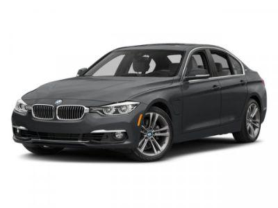 2018 BMW 3-Series 330e iPerformance (Black Sapphire Metallic)