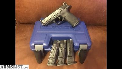For Sale: Smith & Wesson M&P 9 full frame like new