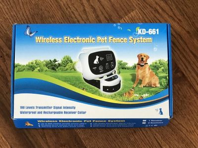 New Wireless Electric Pet Fence System