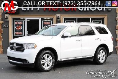 2013 Dodge Durango Crew (Bright White Clearcoat)