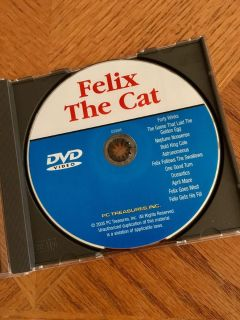 Felix The Cat DVD 12 Cartoons