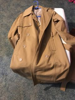 Express trench coat size small