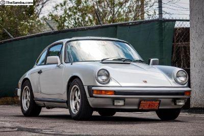 1977 911 sunroof 911 S sport seats