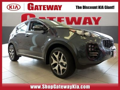 2019 Kia Sportage SX Turbo (Pacific Blue)
