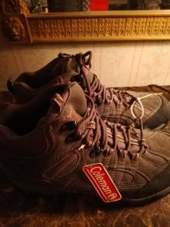 Mens Coleman McKinley hiking boots size 10 1/2 medium. Brand new. $9. Target Thursday only