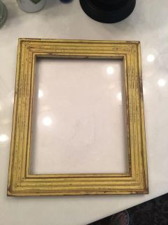 Distressed Picture Frame-Perfect for Fall Decor pumpkin
