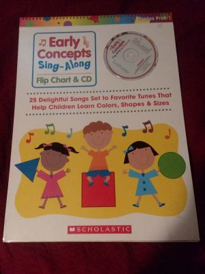 Learning Song book and CD