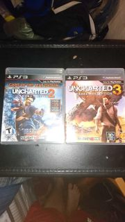 Uncharted 2 and 3, PS3