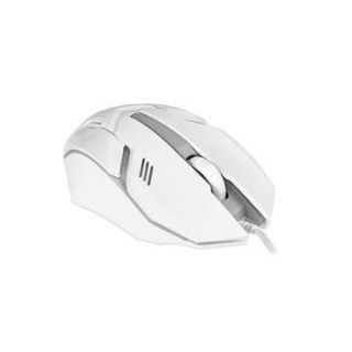 3 button wired usb mouse with 1600 dpi optical sensor and led
