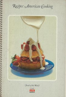 Vintage 1968 Time Life Foods of the World Recipes: American Cooking