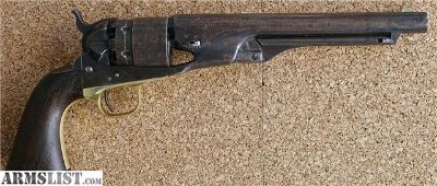 For Sale: Colt 1860 Cap & Ball 44 Cal. YR 1865 Black powder