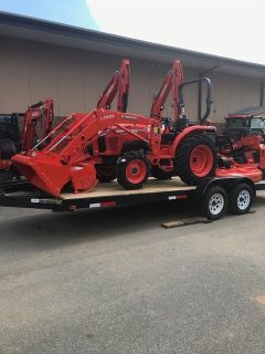 2019 Kubota L2501DT TRACTOR PACKAGE