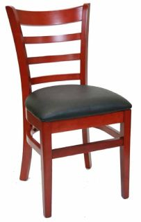 Mahogany Restaurant Chairs - Larry Hoffman Chair