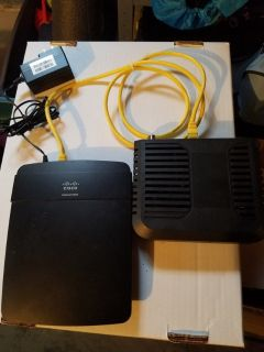 Cisco Linksys E1200 Modem with V2 Wireless-N 300 Mbps Router