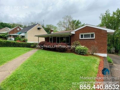 Single Ranch style home in Penn Hills