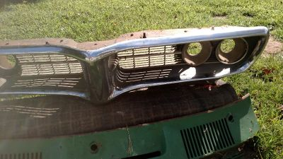 Firebird grille and cowl