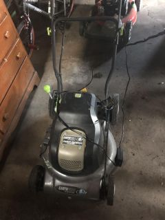 Earthwise 24 Volt lawn mower