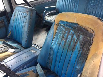 1969-72 Chevy Blazer GMC Jimmy seats