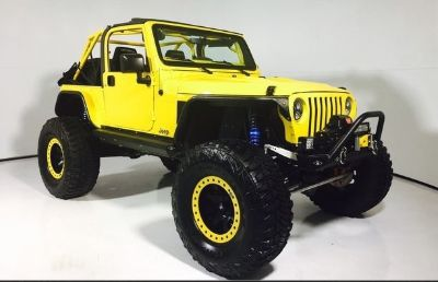 2002 Jeep Wrangler Sport (Solar Yellow Clearcoat/Black Hard Top)