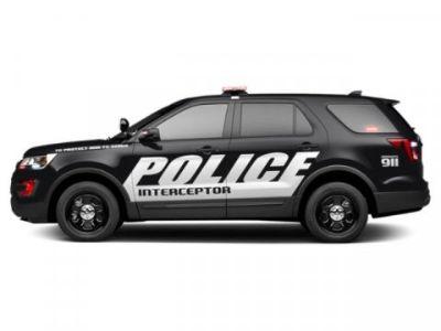 2019 Ford Explorer Police Interceptor (Agate Black)
