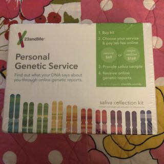 23 and Me DNA Kit. Genetic Testing Kit for Ancestry. Porch Pick up Available. Staples Mill at 295.