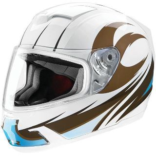 Sell New Mens Z1R Dawn Venom Sabre Motorcycle Helmet LG Large motorcycle in Ashton, Illinois, US, for US $159.95