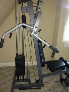 PRECOR FREE WEIGHT MACHINE STACK WEIGHT 150 LBS HOME GYM