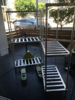 (2) Aluminum Beer Keg Rack RTR# 8081351-09