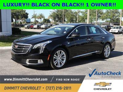 2018 Cadillac XTS Luxury Collection (black raven)