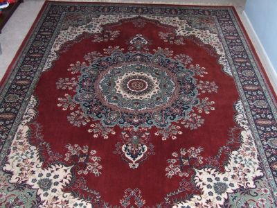 Persian / Oriental Area Rug !00% Worsted Wool Vibrant Colors 11' x 8' by Farraghan
