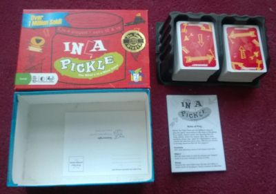 In a Pickle The What's in a Word card game ages 10+ 2-6 players