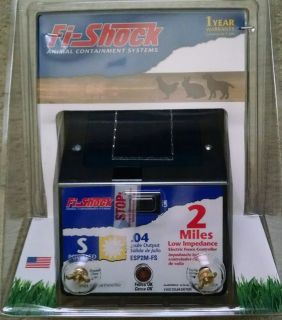 Fi-Shock Fence Animal Containment System BRAND NEW! fencing chickens rabbit etc