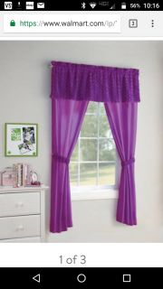 EUC Two full sets, of Your Zone 5pc Poodle curtains