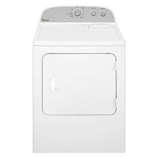 Whirlpool 7.0 cu. ft. Electric Dryer in White *Closeout* WED4815EW
