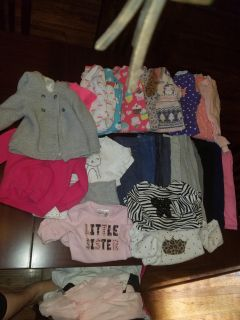 Girl size 18 month clothing lot