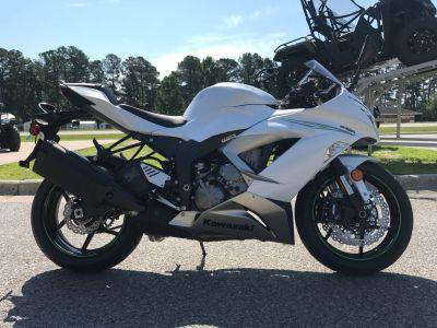 2017 Kawasaki NINJA ZX-6R SuperSport Motorcycles Greenville, NC