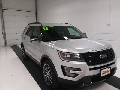 2016 Ford Explorer Sport (SILVER)