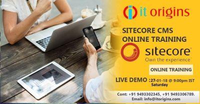 best sitecore cms online training institute in hyderabad
