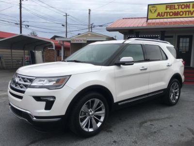 2018 Ford Explorer Limited (White)