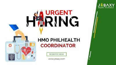 Urgent Hiring HMO PHILHEALTH COORDINATOR