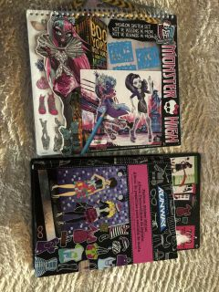 Monster high & Project Runway Books