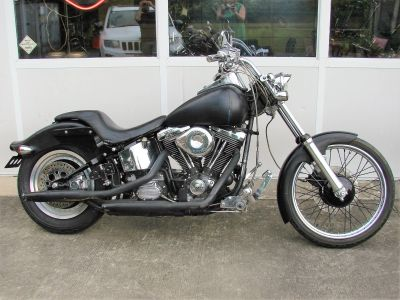 1998 Harley-Davidson FXSTC Softail Custom (Black) Street Motorcycle Williamstown, NJ
