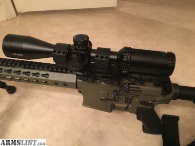 For Sale: 1/2 MOA Custom AR15