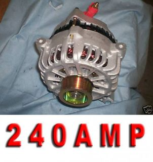 Purchase NEW HD 240 HIGH AMP FORD MUSTANG GT ALTERNATOR 99 2000 2001 2002 2003 SOHC 4.6L motorcycle in Porter Ranch, California, United States, for US $168.50